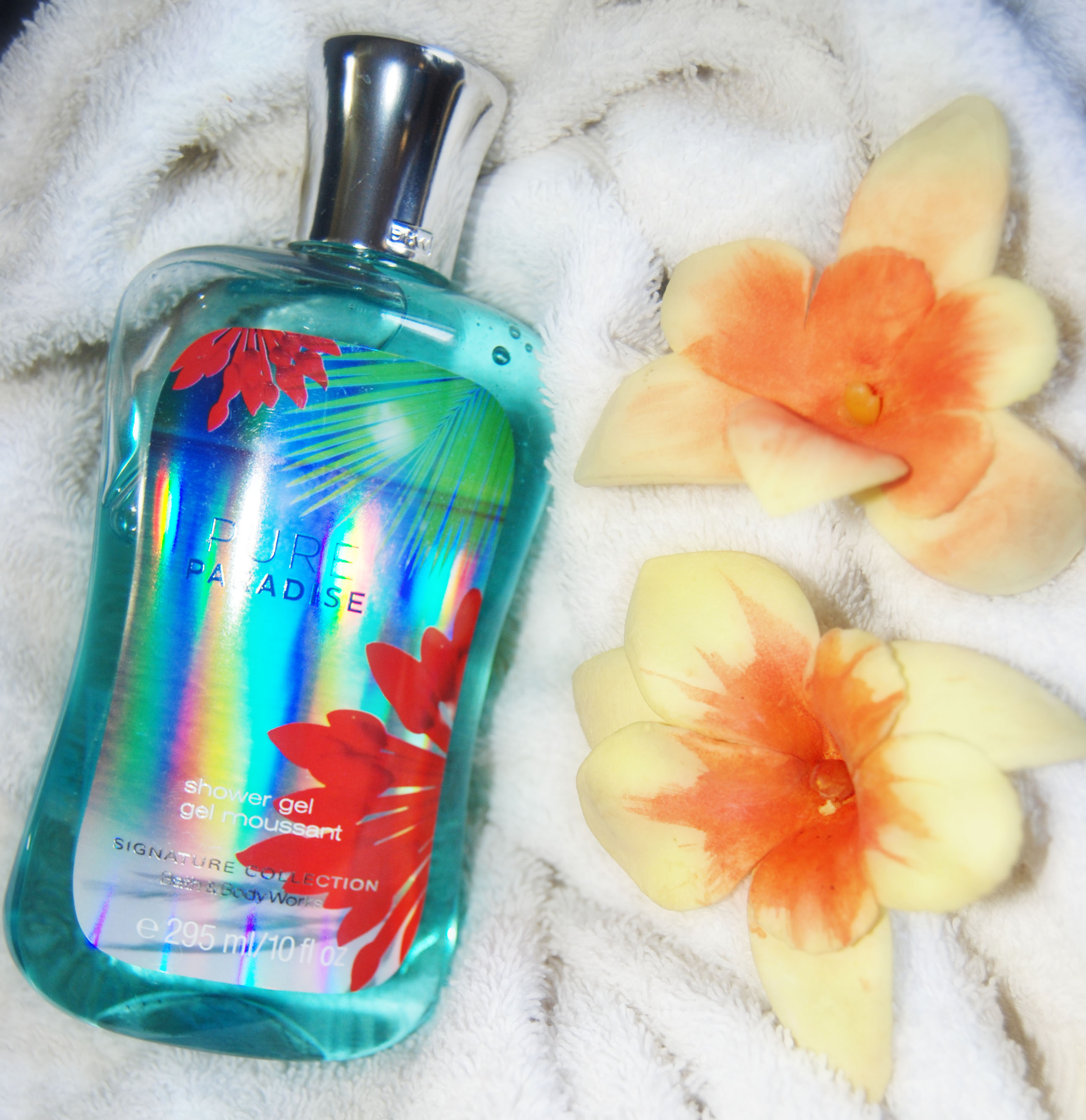 Review Bath Body Works Pure Paradise Shower Gel