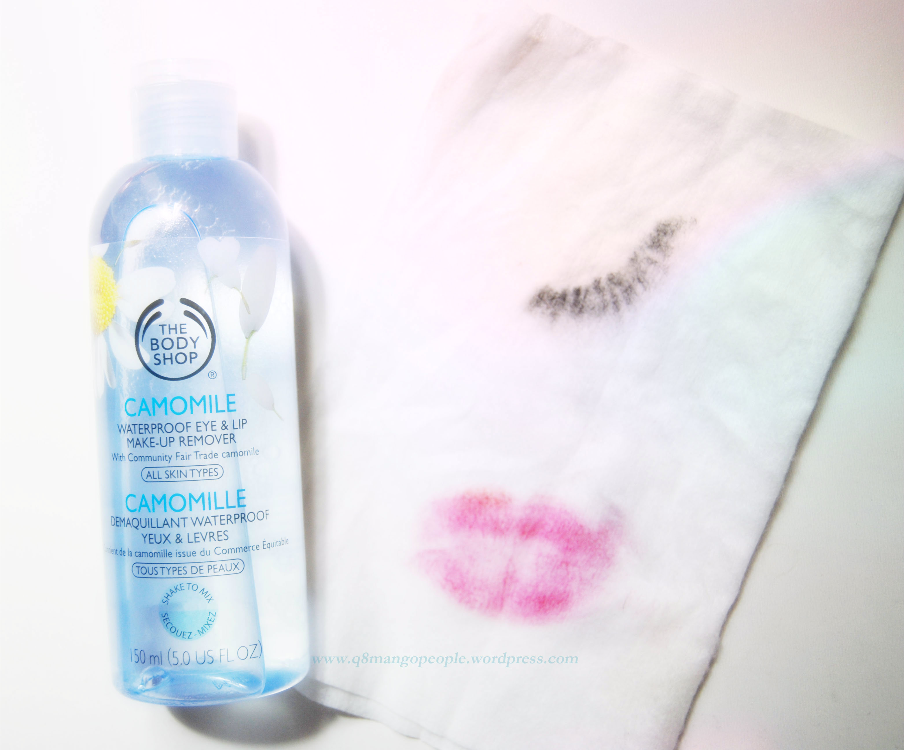Review : The Body shop Camomile Waterproof Eye & Lip Makeup Remover