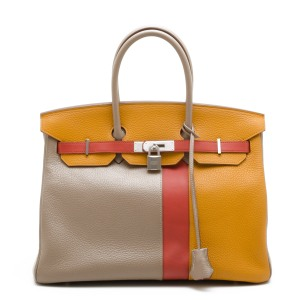 Hermes Tri-Colour