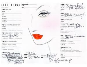 Marissa Webb Face Chart