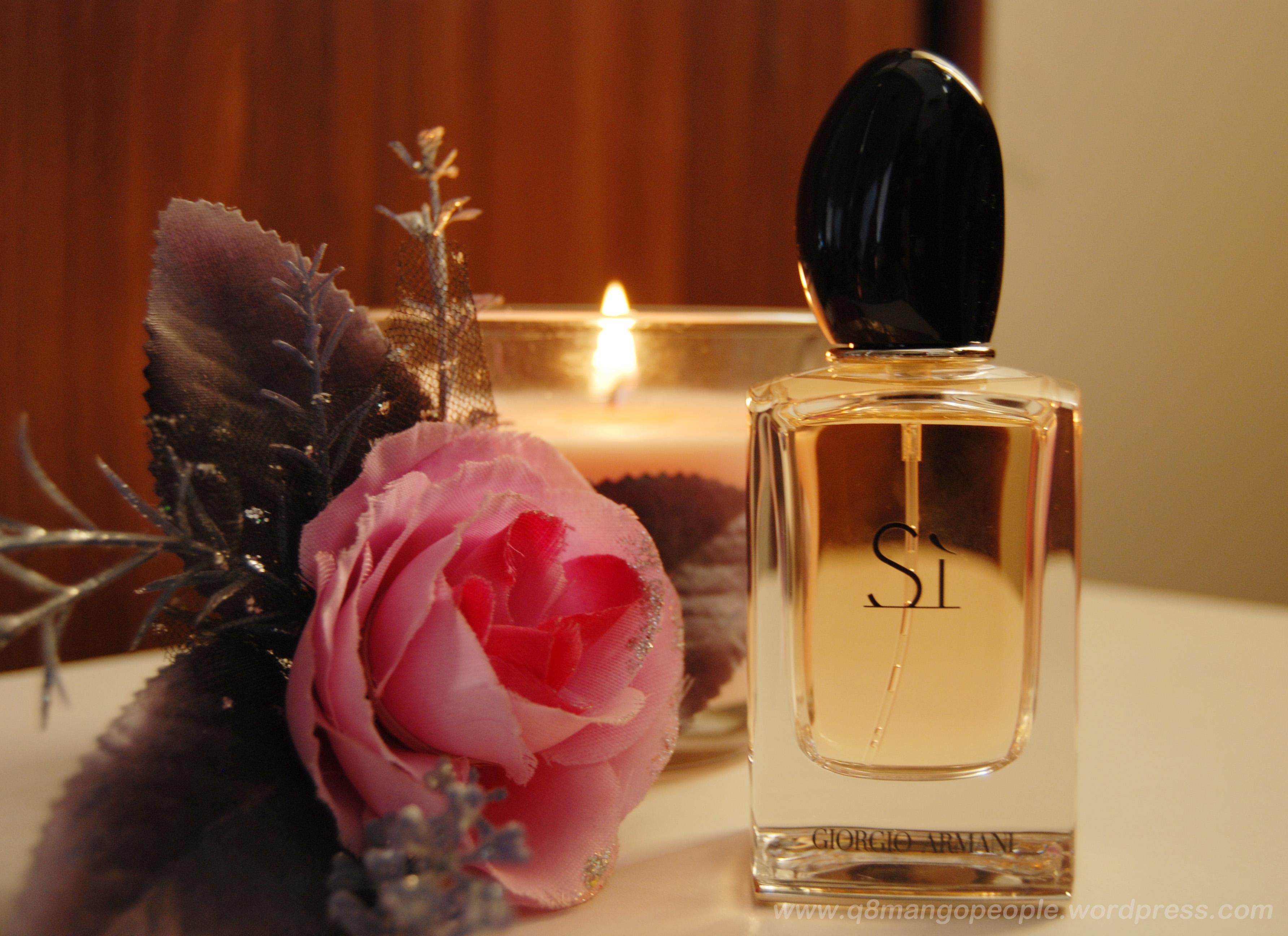 Perfume Review Si Giorgio Armani Q8 Mango People