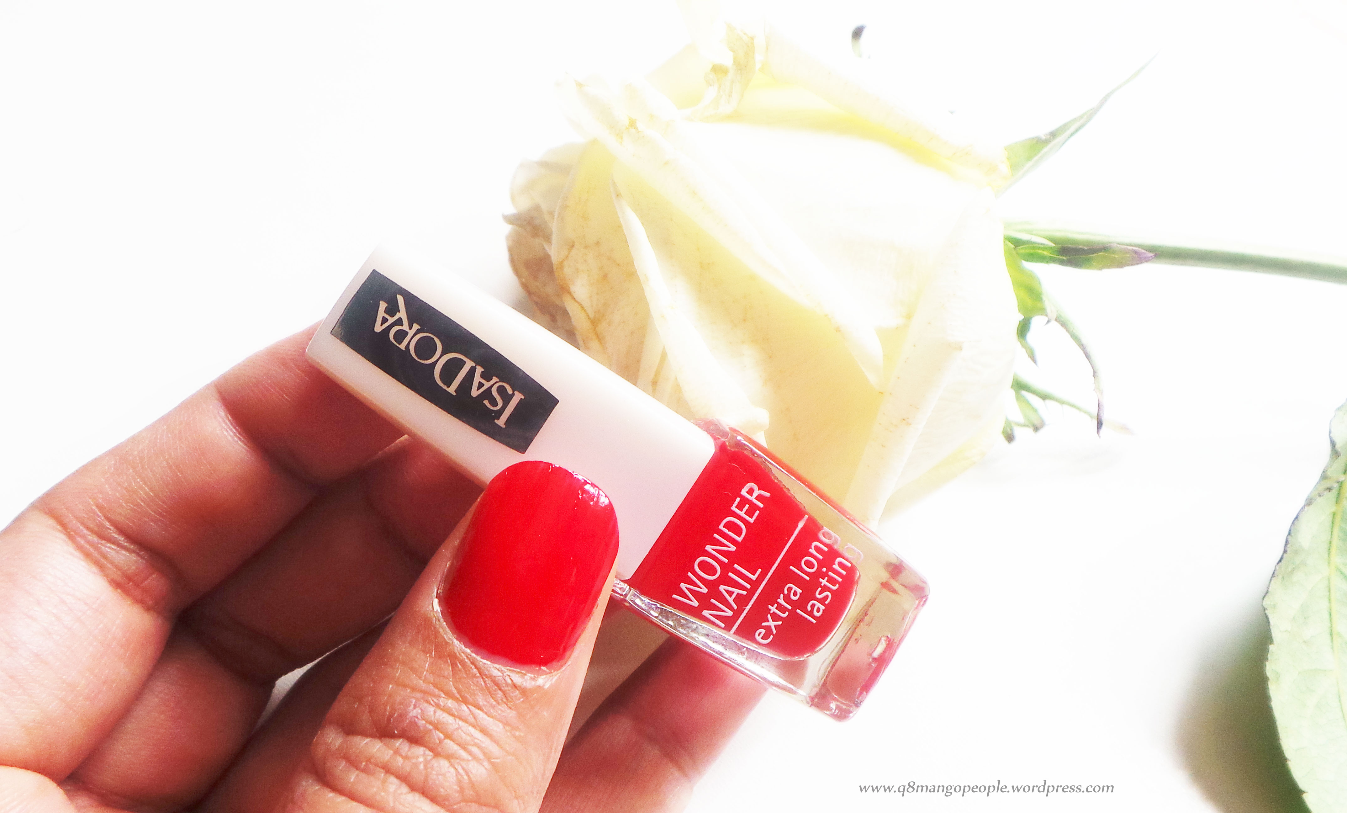 Review : IsaDora Wonder Nail, Extra Long Lasting Nailpolish | Q8 ...