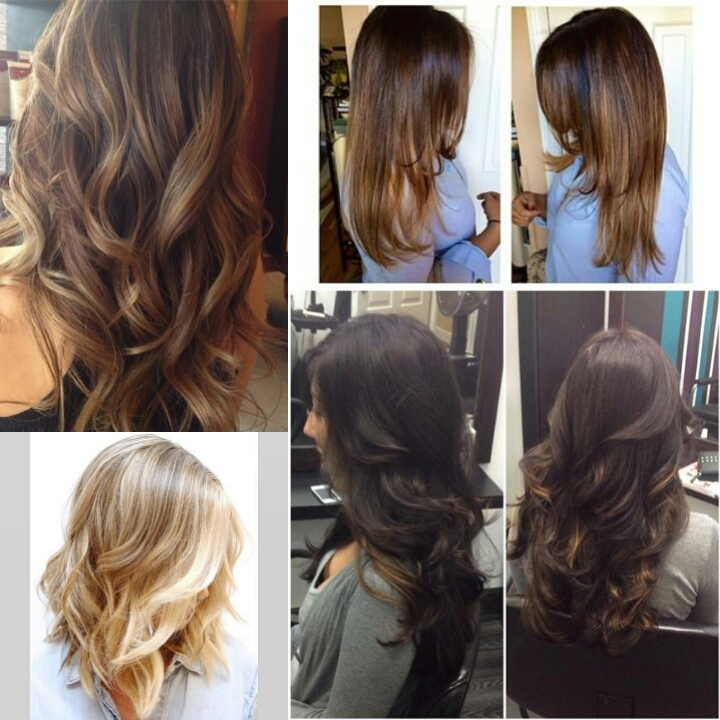 Diy Balayage Highlights On Dark Hair Hairs Picture Gallery