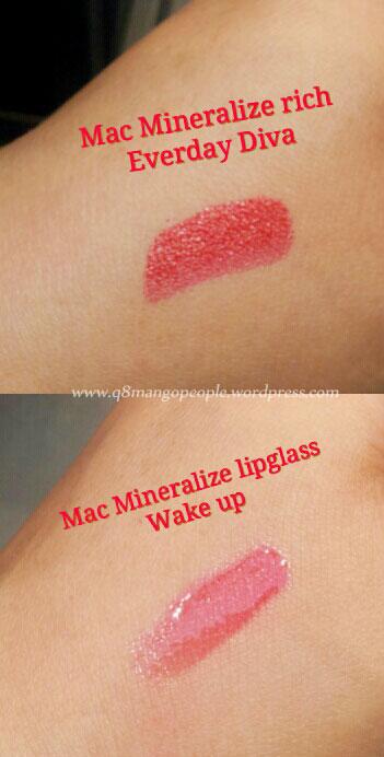 Mac mineralize lipstick everyday diva q8 mango people for Mac cosmetics diva lipstick