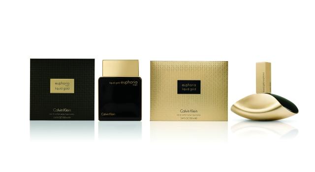 Calvin Klein Euphoria Liquid Gold for men and woman
