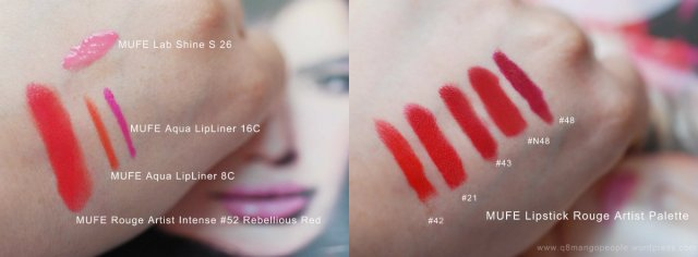 mufe swatch collage
